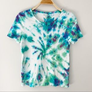 White Stag Tie Dye Short Sleeve Women's T-Shirt